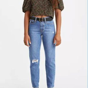 Levi's WEDGIE FIT ANKLE WOMEN'S JEANS Distressed